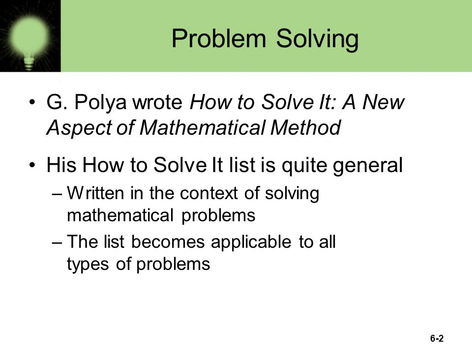 mathematical problems to solve