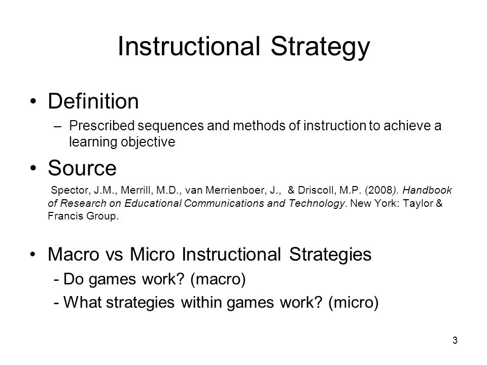 1 What Do We Know About The Effectiveness Of Instructional