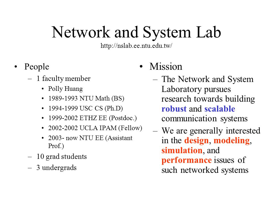 Sensor Networks Solutions to Real Life Problems Polly Huang NTU, EE