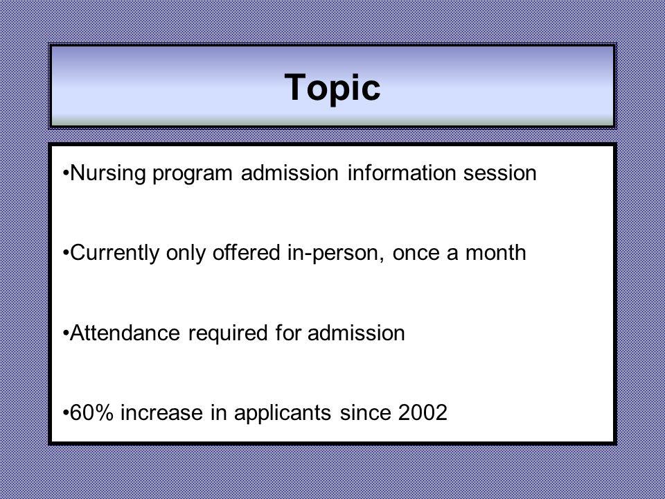 interesting nursing topics for presentation