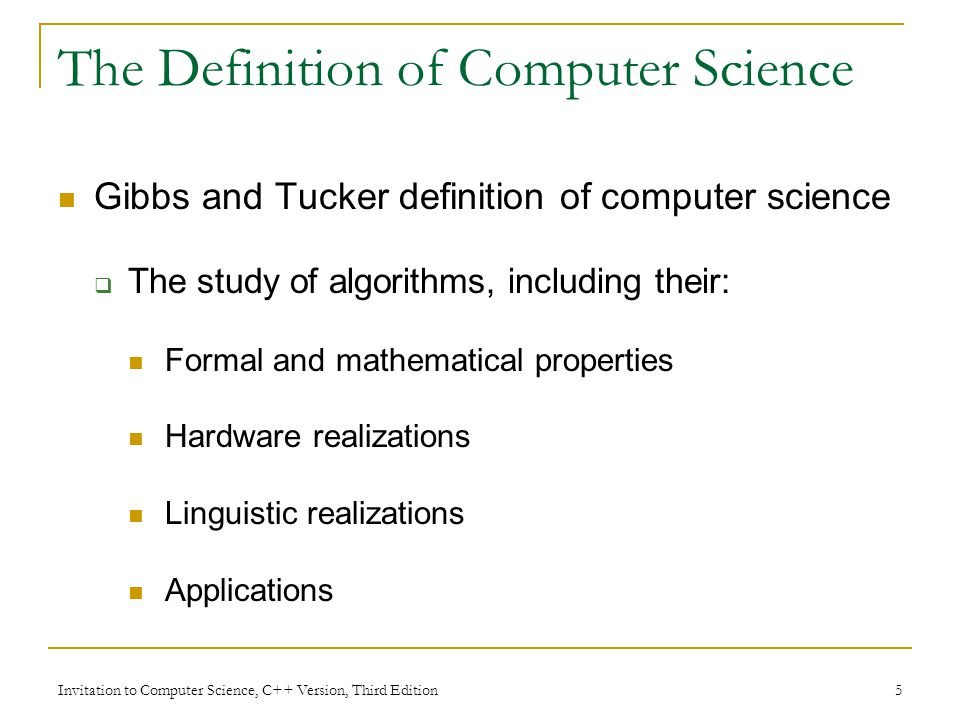 Chapter 1 an introduction to computer science invitation to 5 invitation stopboris Images