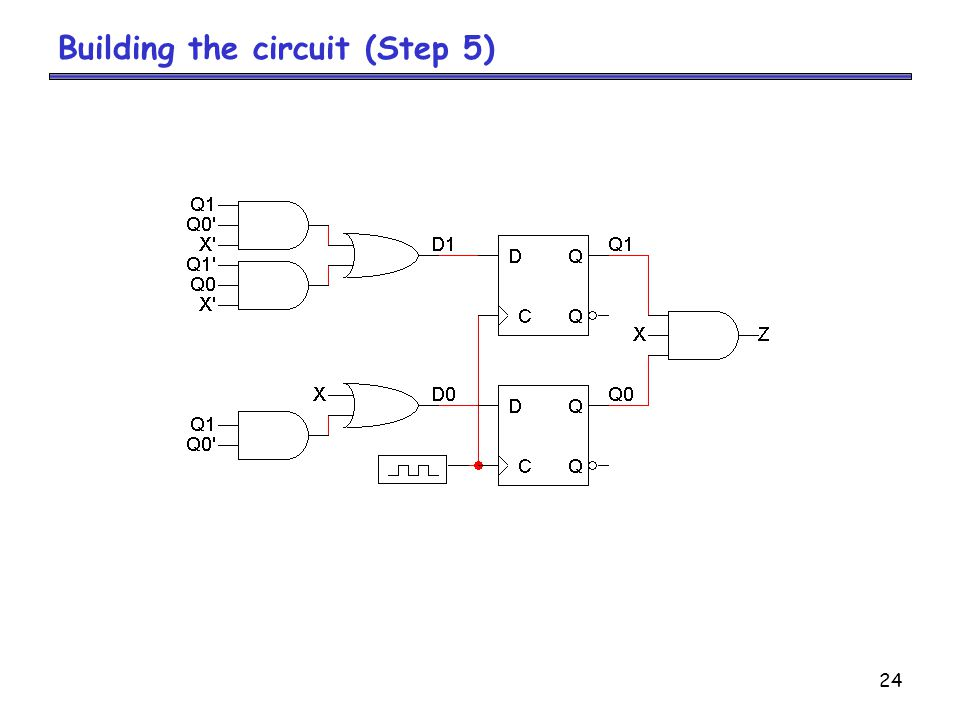 24 Building the circuit (Step 5)