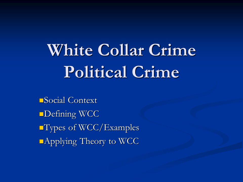 Political white collar crime videos & lessons | study. Com.