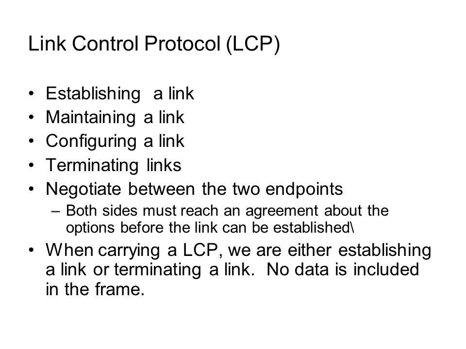 PPP Protocol PPP Stack -Establ...