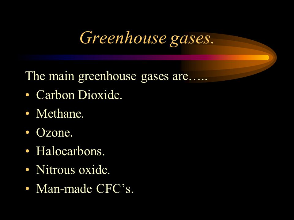 The Greenhouse Effect The earth's atmosphere traps heat radiation from the sun.