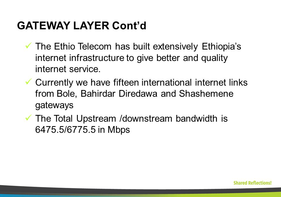 Shared success IP NETWORK Prepared by IP O&M Section  - ppt download