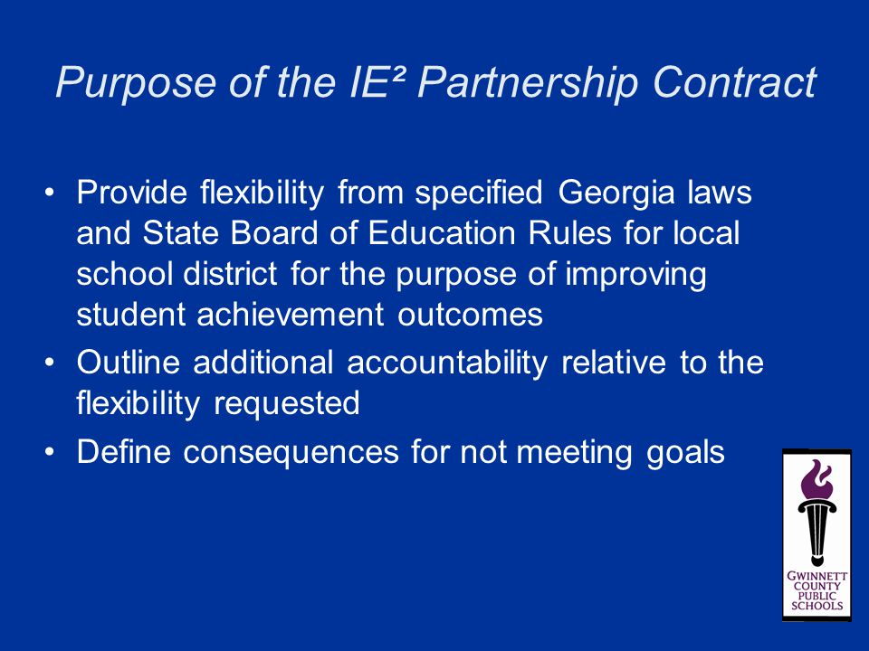 School System Operating Models and Flexibility Options