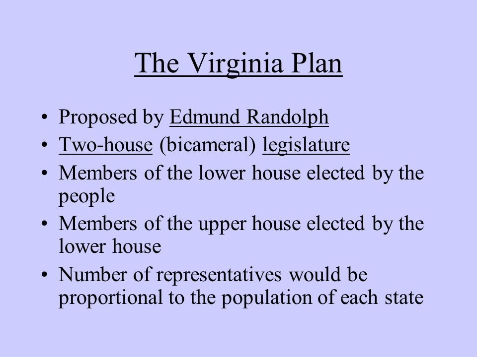 the reasons why i edmund randolph should be elected Edmund randolph was very instrumental in how our government is composed today during the constitutional convention, he presented his virginia plan that outlined how the new government should look.