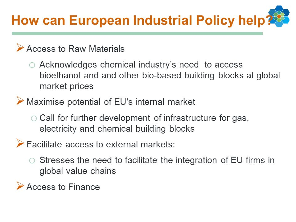 How can European Industrial Policy help.