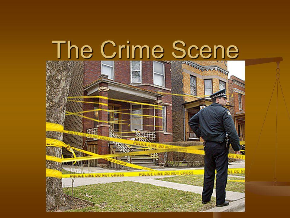 The Crime Scene  Locard's Principle Dr  Edmond Locard Dr  Edmond