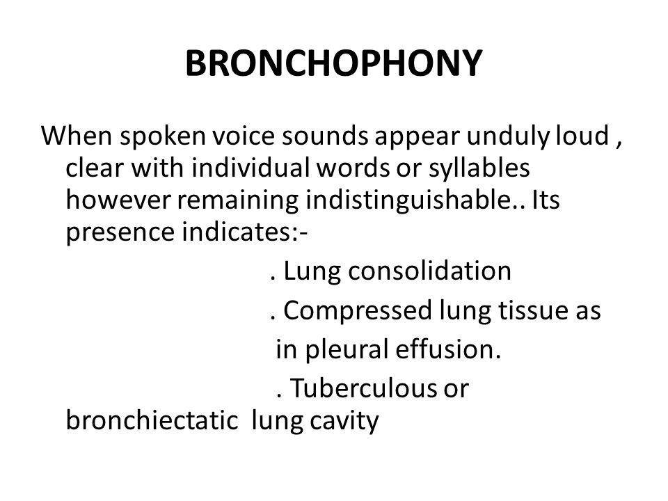 Percussion And Auscultation By Dr Vidhu Mittal Junior Resident Deptt Of Chest And Tb Ppt Download Meaning of bronchophony medical term. percussion and auscultation by dr vidhu