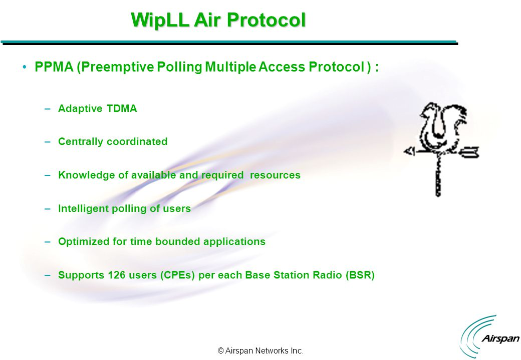 Airspan Networks Inc  WipLL Presentation  © Airspan Networks Inc