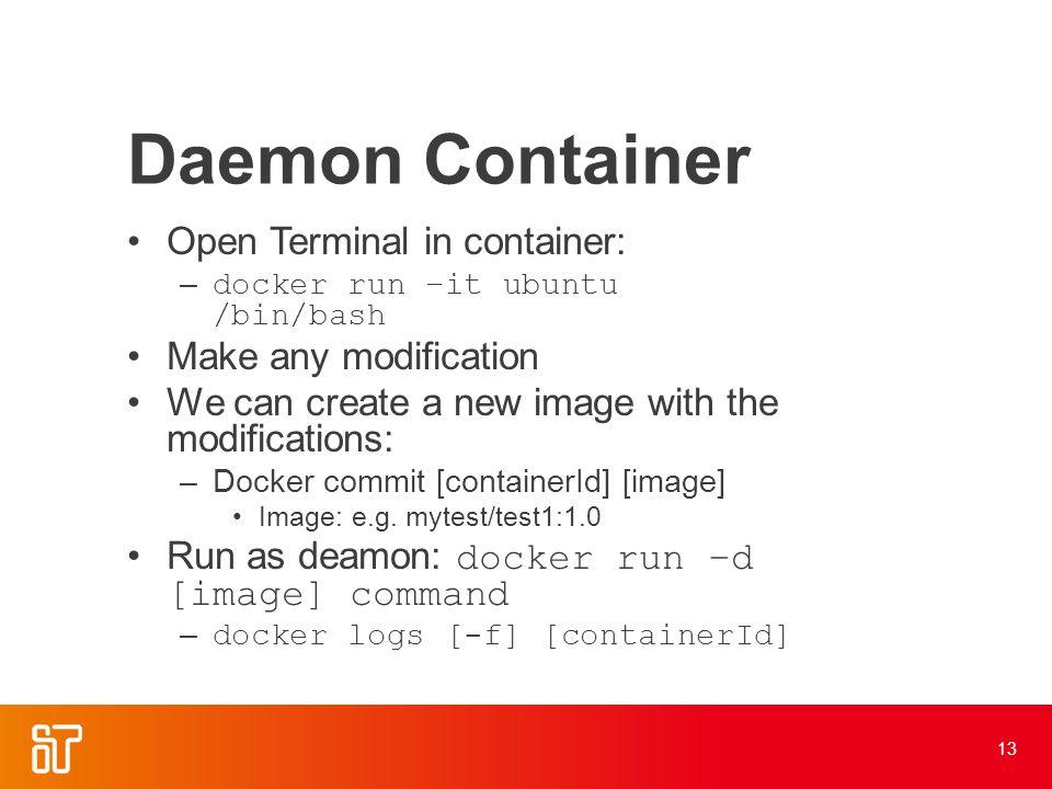 Docker Martin Meyer Agenda What is Docker? –Docker vs  Virtual