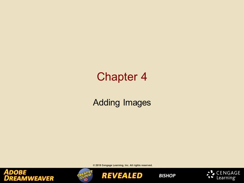 Chapter 4 Adding Images