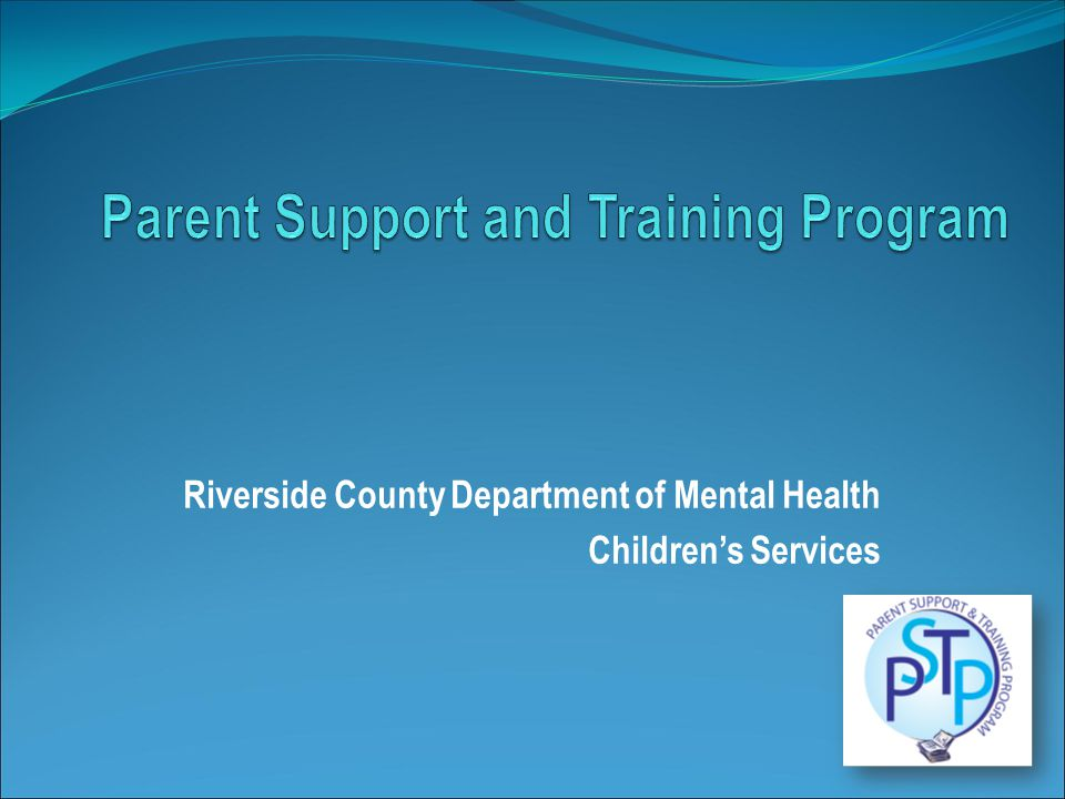 Riverside County Department of Mental Health Children's Services