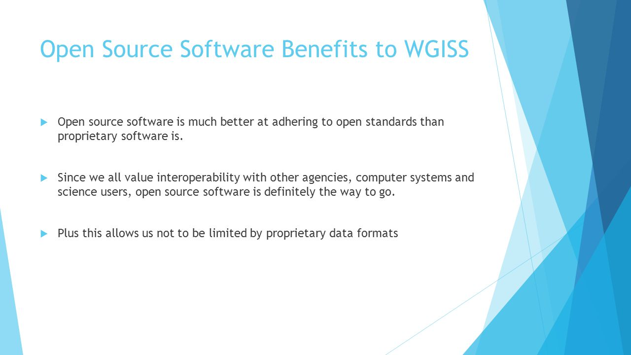open source wgiss 39. definition of open source software (oss