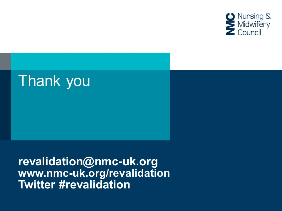 Thank you   Twitter #revalidation