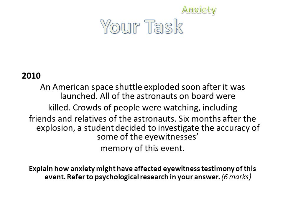 2010 An American space shuttle exploded soon after it was launched.