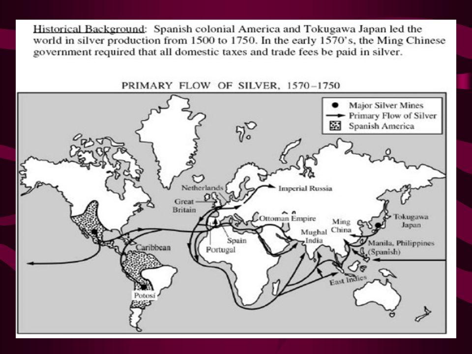 global flow of silver dbq essay quizlet