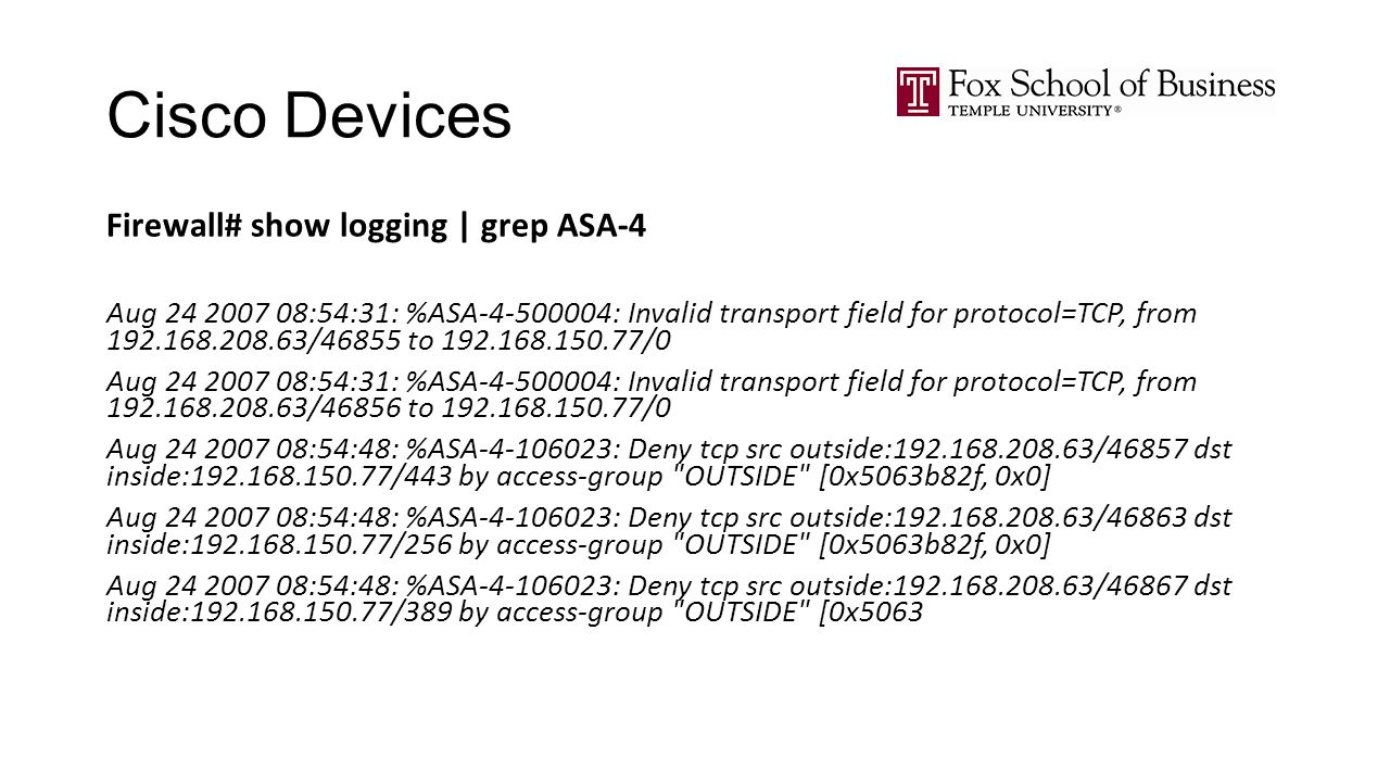 Intrusion Detection MIS ALTER 0A234 Lecture ppt download