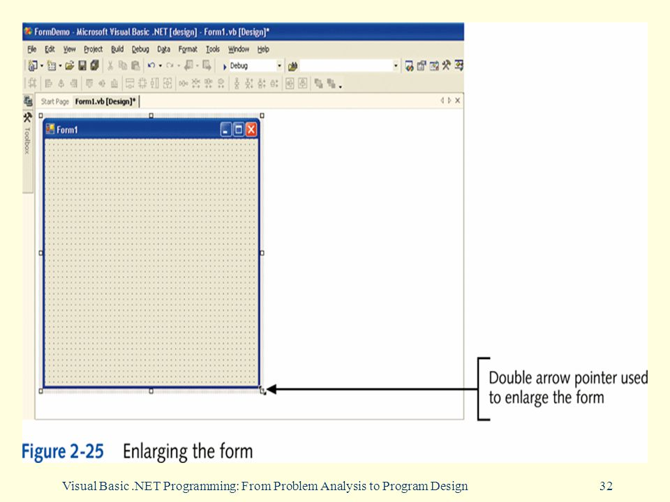 Visual Basic.NET Programming: From Problem Analysis to Program Design32