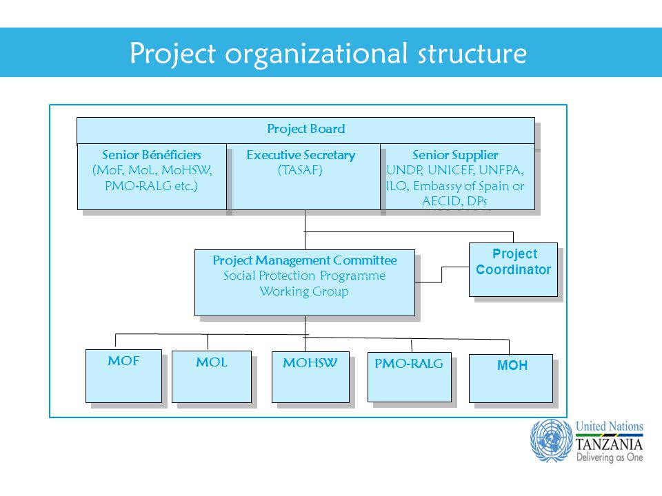 unicef organisational structure