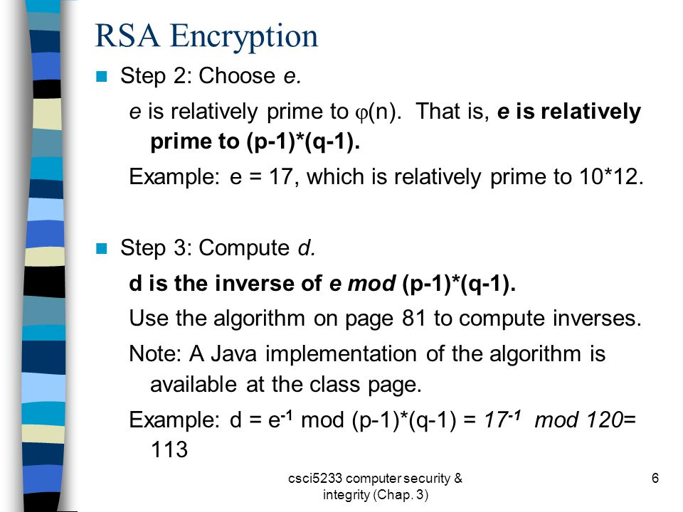 Chapter 3 Encryption Algorithms & Systems (Part C) - ppt download