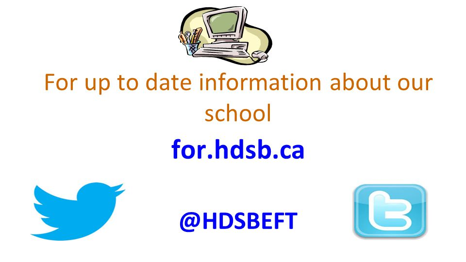 For up to date information about our school