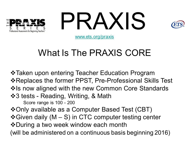 Praxis Core Math