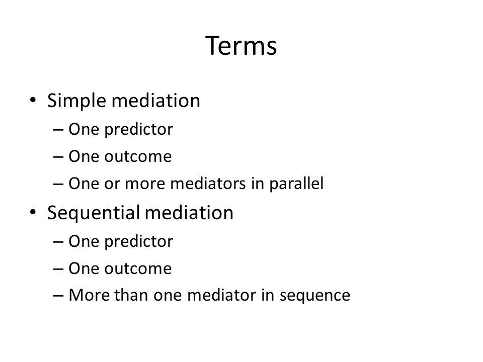 Using SPSS and R for Mediation Analyses Matt Baldwin Lucas