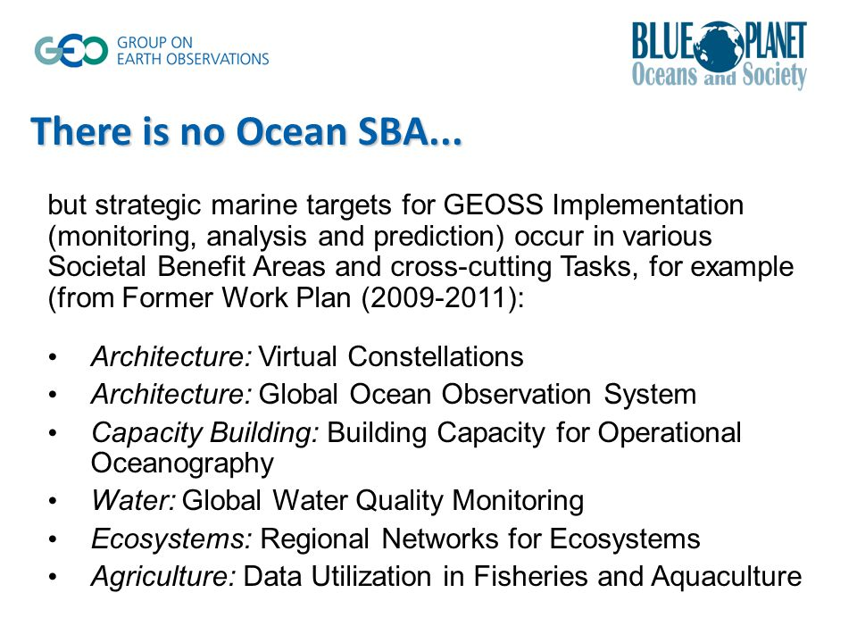 There is no Ocean SBA...