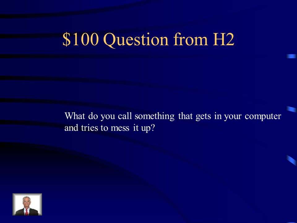 $500 Answer from H1 Yourself
