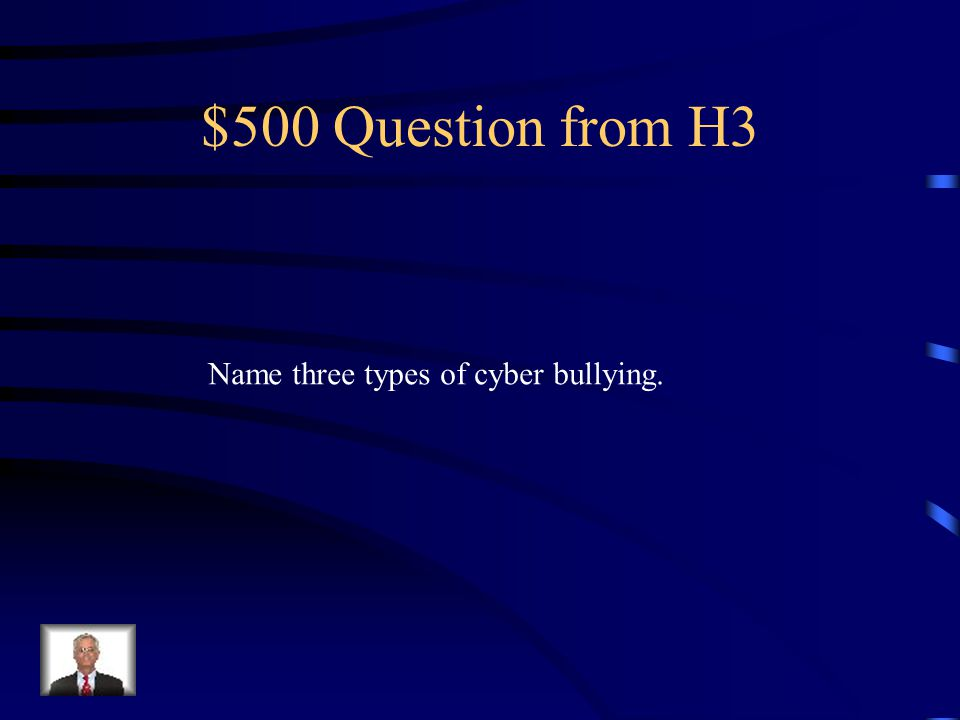 $400 Answer from H3 No