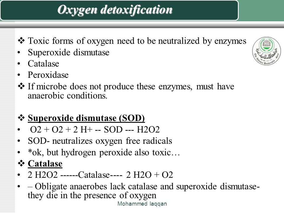 Why is oxygen is harmful.