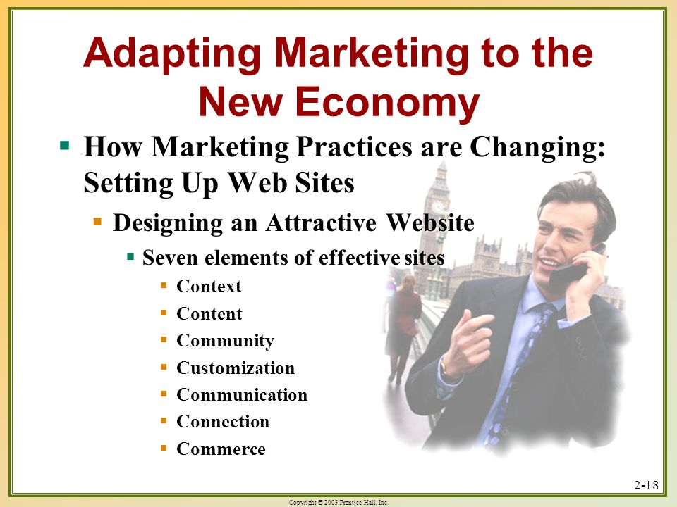 Copyright © 2003 Prentice-Hall, Inc. 2-1 Chapter 2 Adapting Marketing To The New Economy by PowerPoint by Milton M. Pressley University of New Orleans. - ppt download - 웹