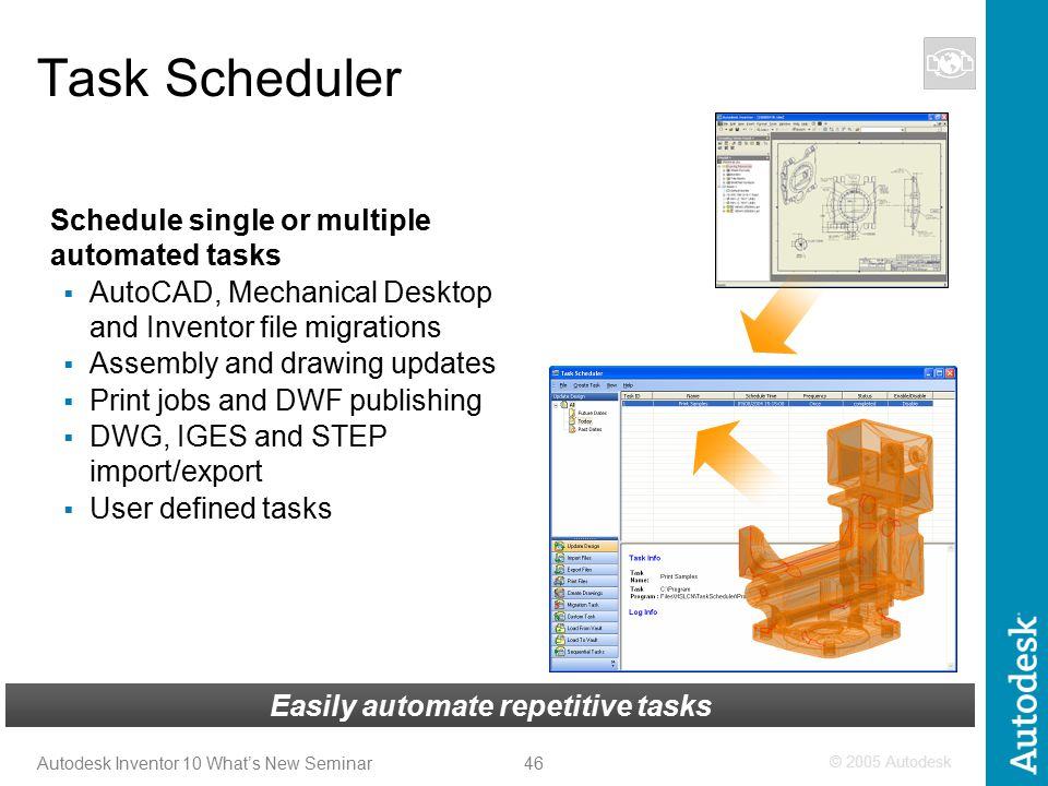 1 Autodesk Inventor 10 – What's New? Advanced Micro Systems