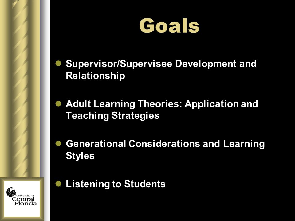 Adult developement and learning styles