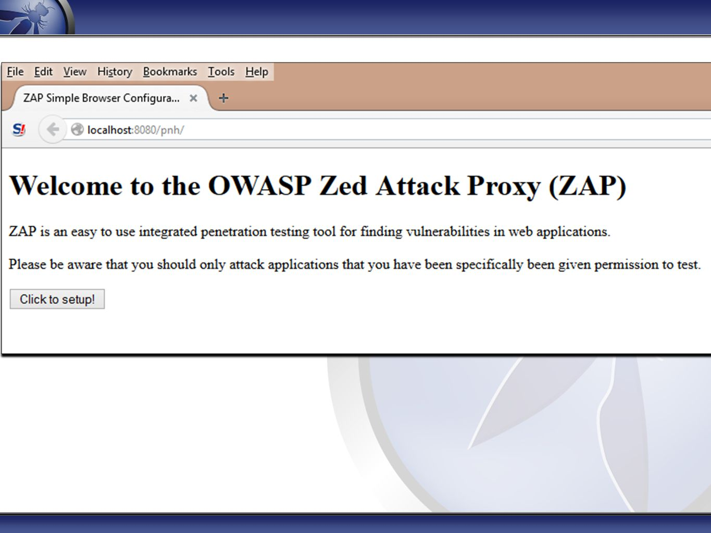 The OWASP Foundation Copyright © The OWASP Foundation