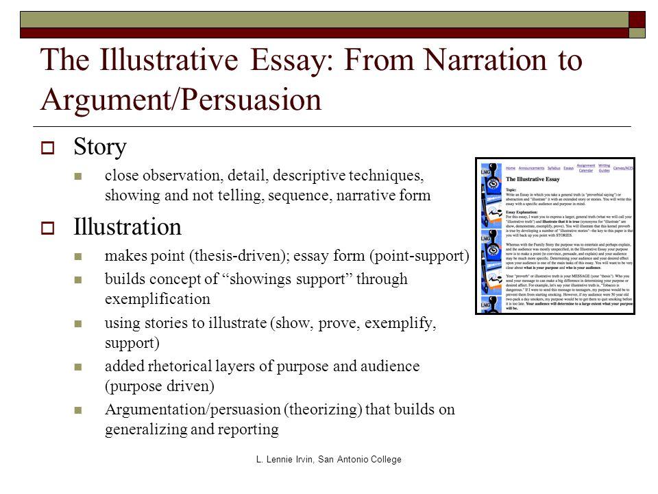 narrative illustration essay