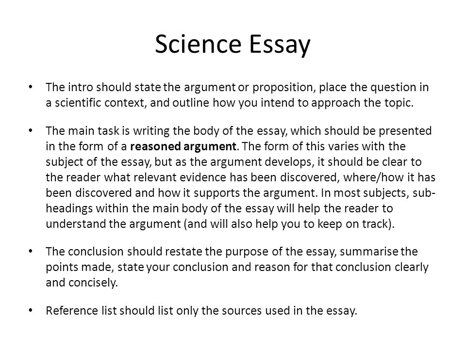 Science Fiction Essays  Topics English Essay also Compare And Contrast Essay High School Vs College Science Essay  Mistyhamel Essay Writing For High School Students