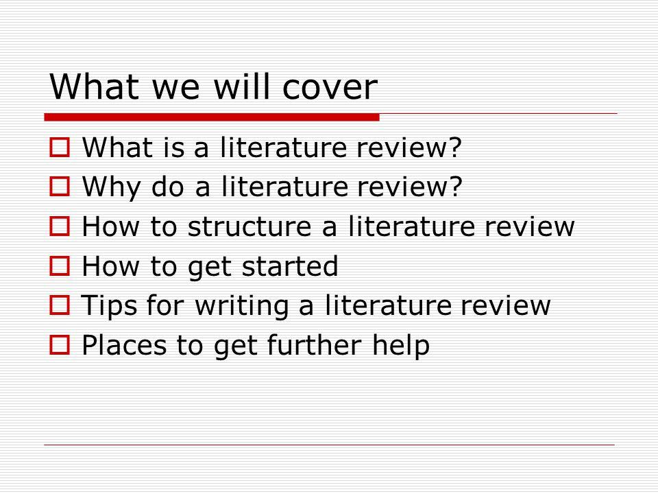 medical literature review