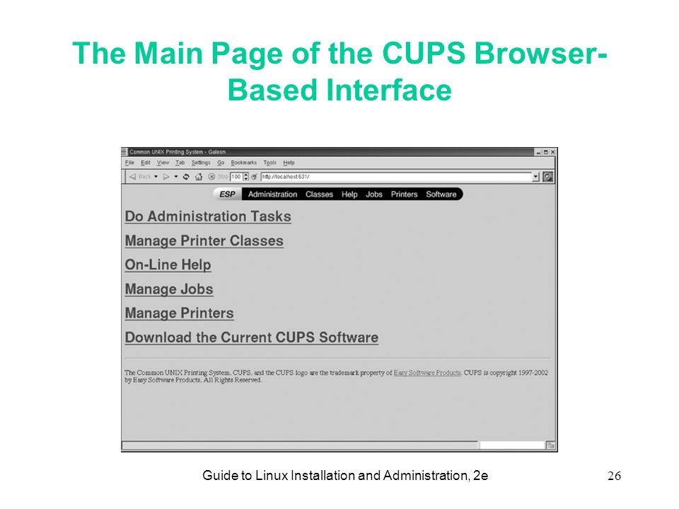 Guide to Linux Installation and Administration, 2e1 Chapter 12
