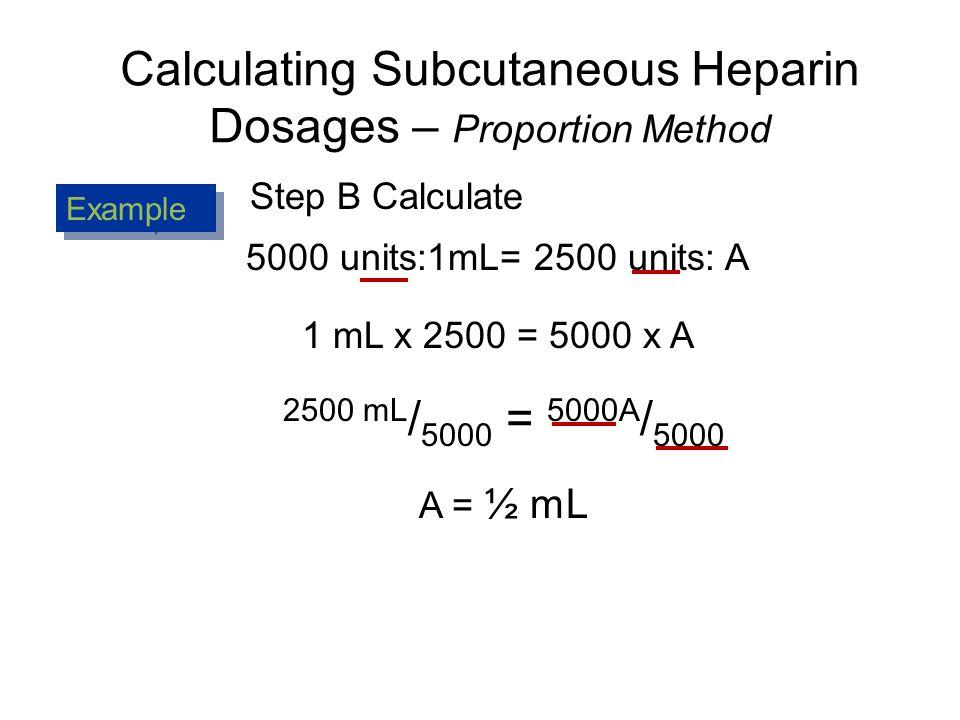 Heparin calculations youtube.
