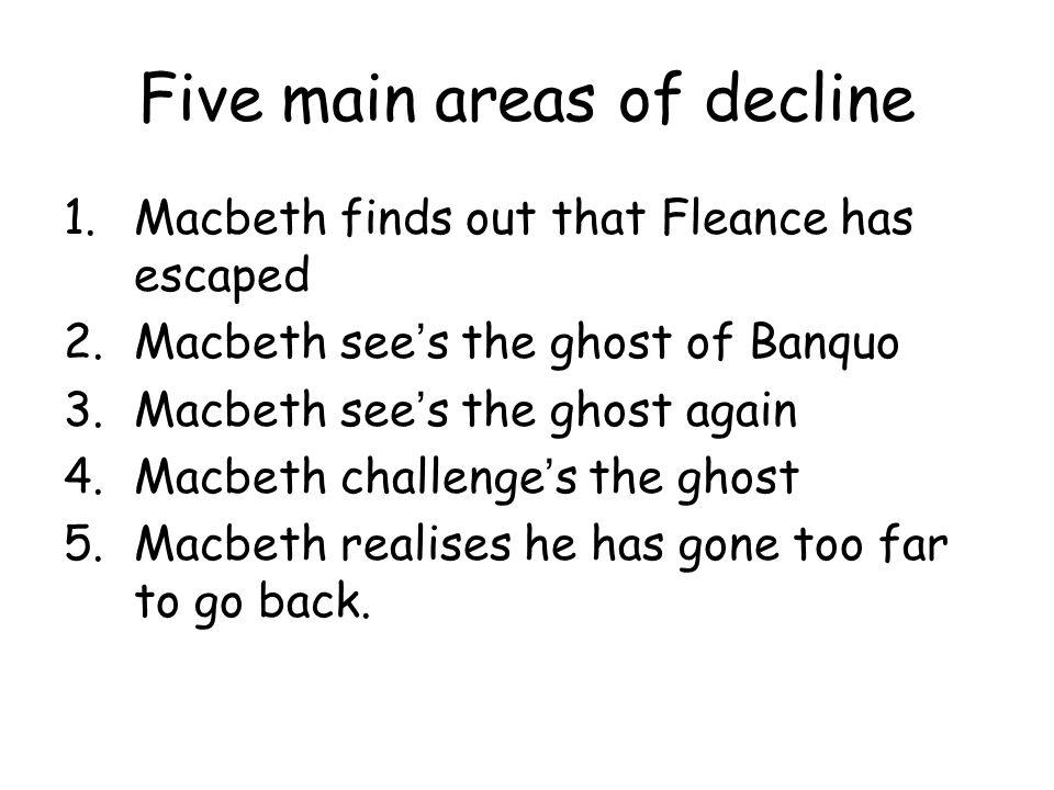 what is macbeths downfall
