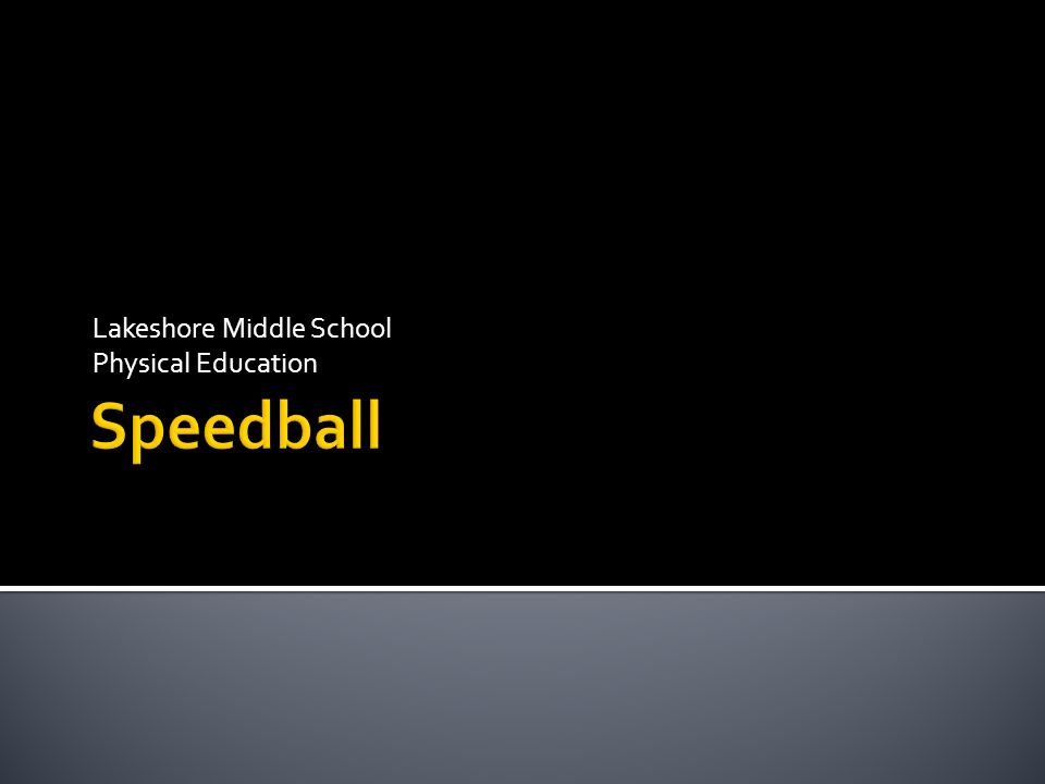Lakeshore Middle School Physical Education