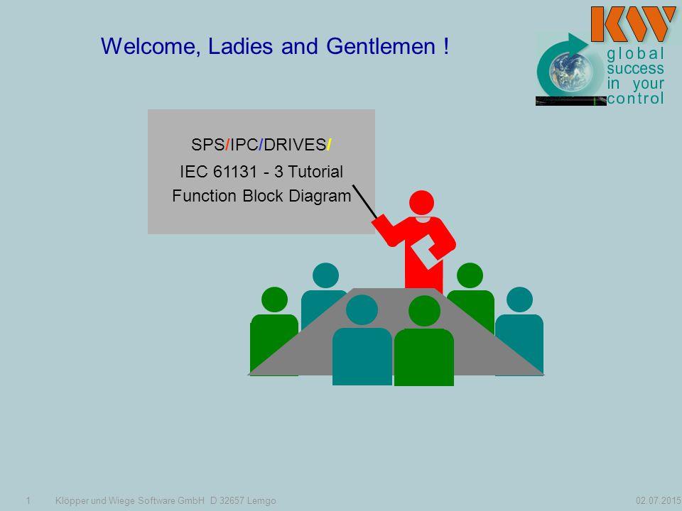 1Klöpper und Wiege Software GmbH D Lemgo Welcome, Ladies and
