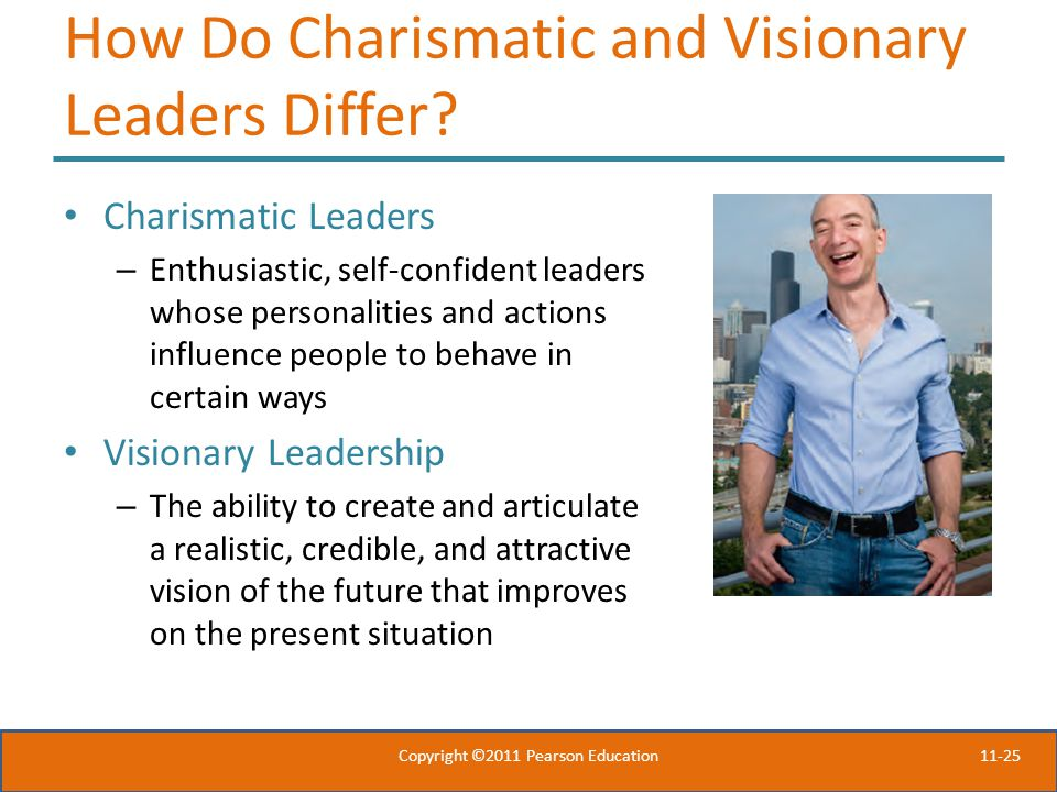 11-25 How Do Charismatic and Visionary Leaders Differ.