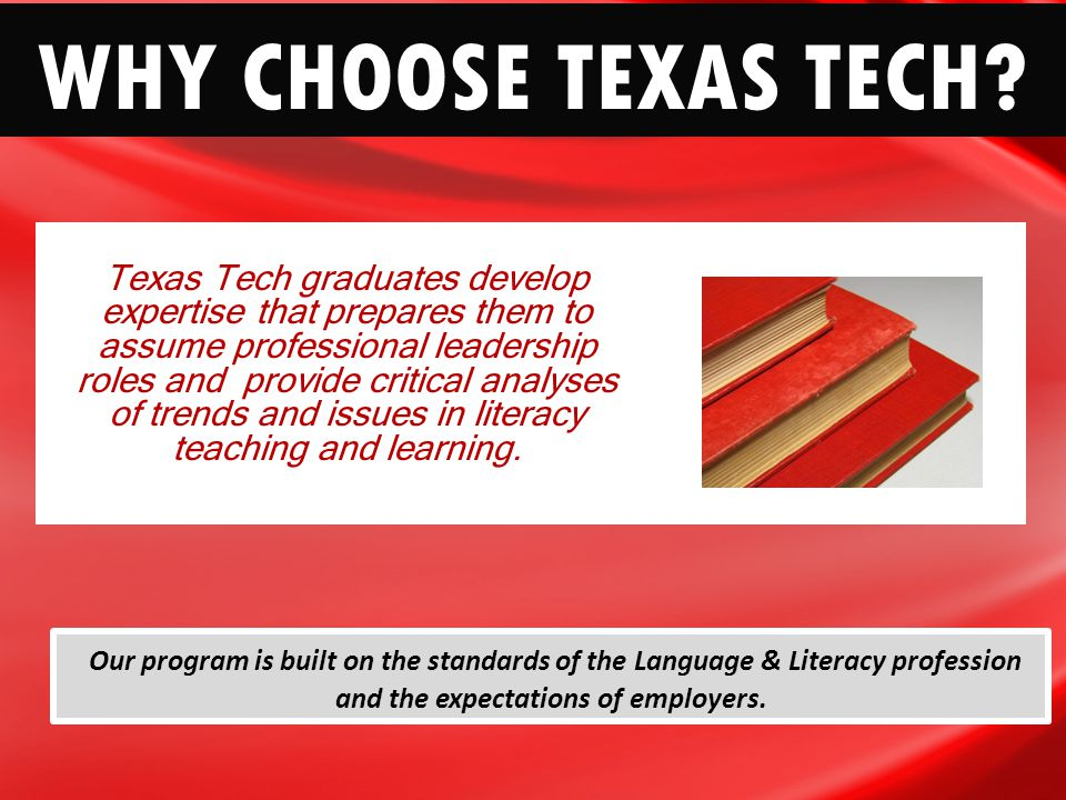 Masters Degree In Curriculum Instruction Why Choose Texas Tech