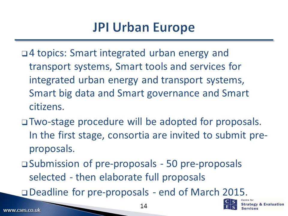 14  4 topics: Smart integrated urban energy and transport systems, Smart tools and services for integrated urban energy and transport systems, Smart big data and Smart governance and Smart citizens.