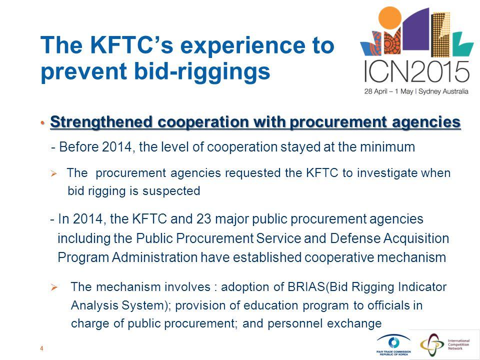 1 The Fight against Bid-Riggings Sung-Keun KIM Director